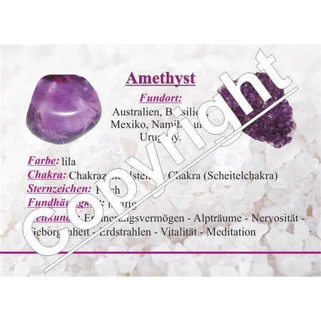 Amethyst mini Trommelsteine ca. 4 - 8 mm