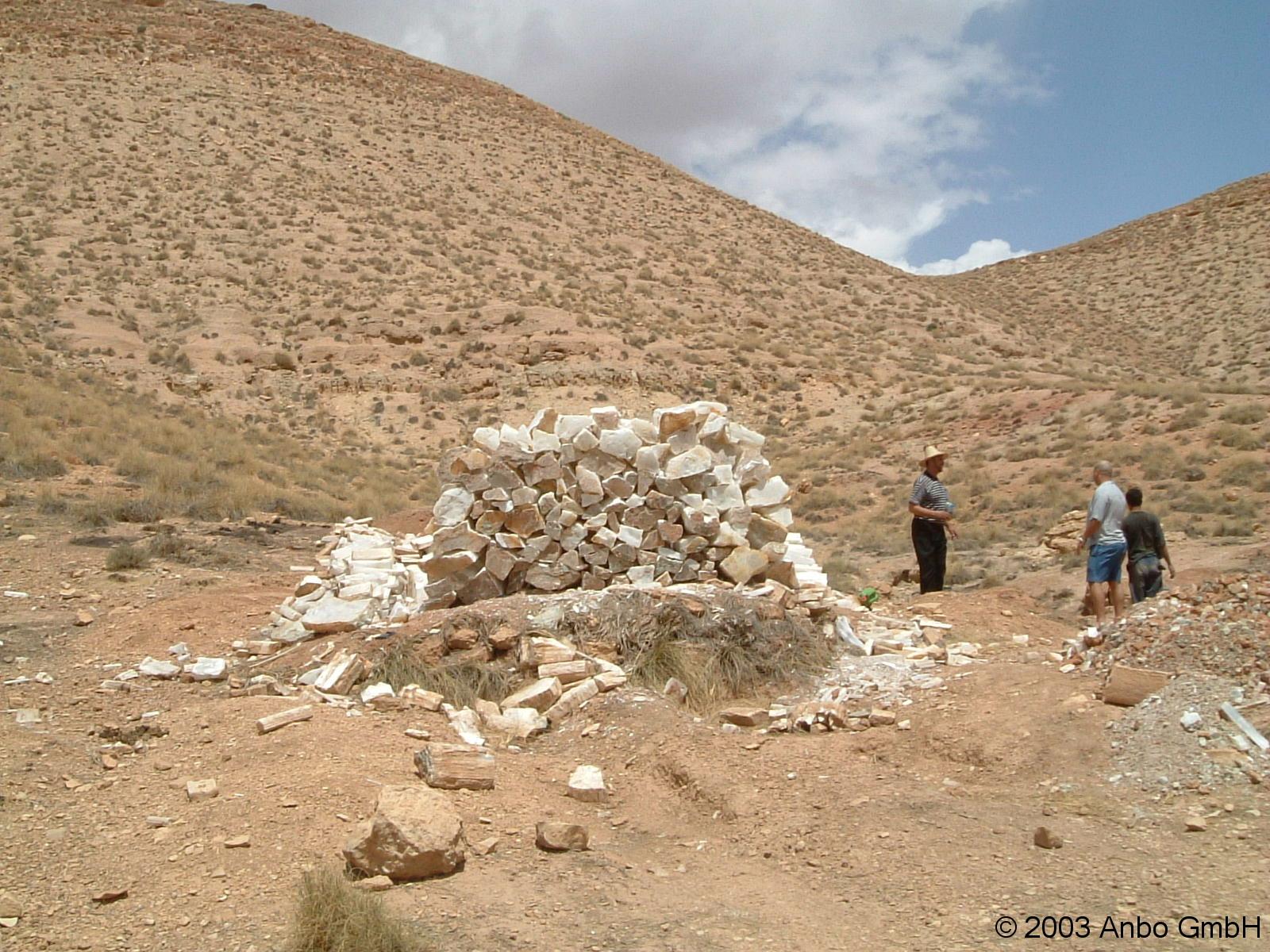 Selenitabbau Marokko 2